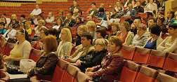 Конференція кошторисників 2010. Під час виступів.