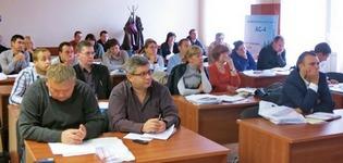 Учасники семінару по  проектній документації у будівництві